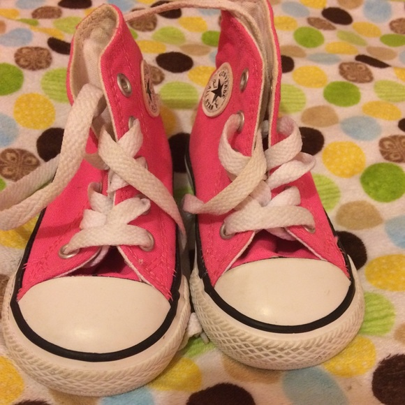 Converse Shoes | Baby Girl Hi Top